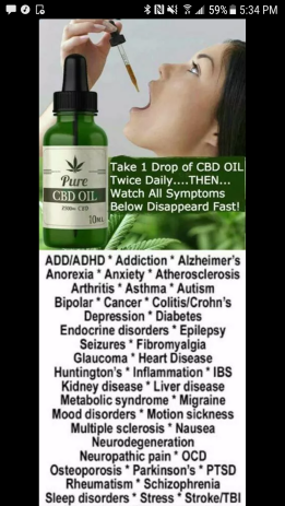 CBD Oil via Cure for Life